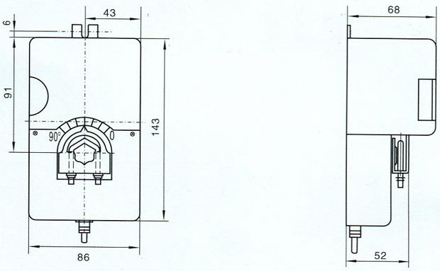 电动风阀执行器 df-a-i图片