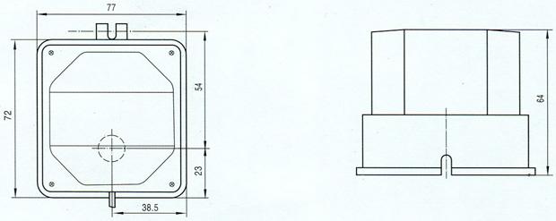 电动风阀执行器 df-a-iii图片