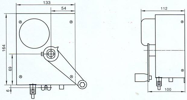 电动风阀执行器 df-a图片